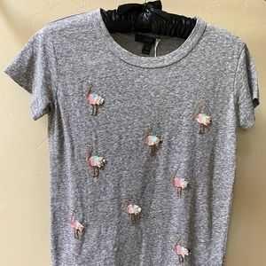 NEW WOMEN/'S M XXL J CREW FACTORY MERCANTILE OWL FRIENDS COLLECTOR T-SHIRT